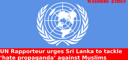 UN Rapporteur urges Sri Lanka to tackle 'hate propaganda' against Muslims