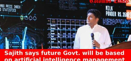 Sajith says future Govt. will be based on artificial intelligence management